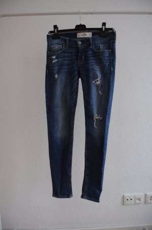 Skinny Jeans von Hollister / Size Zero / Used Look