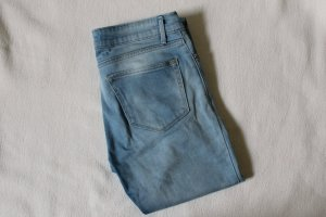 Mango Trousers azure-neon blue