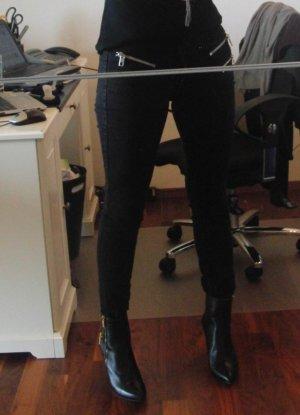 Skinny Jeans von Mango - Gr. 38 - schwarz