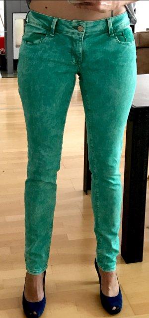 Skinny Jeans von Mavy in sommerlichem Grün