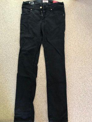 MET Hoge taille jeans zwart