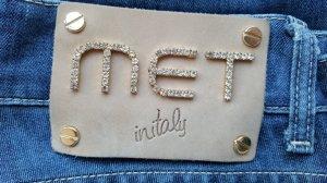 Skinny Jeans von MET mit Strass-Applikation, Gr. 29 Hingucker! Neuwertig