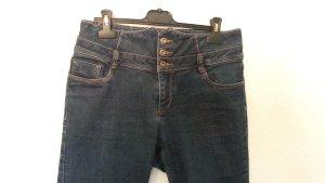 Skinny Jeans von Only - indigo dunkle Waschung High Waist Jeans Gr. 38