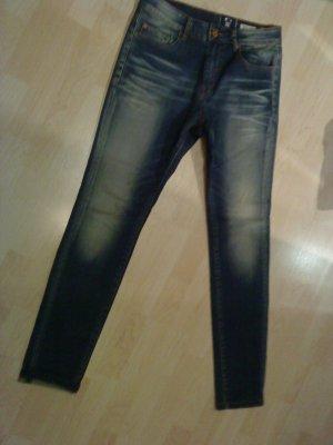 Skinny Jeans von Review 29/32 blau