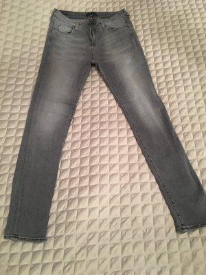Skinny Jeans von St Studio in grau