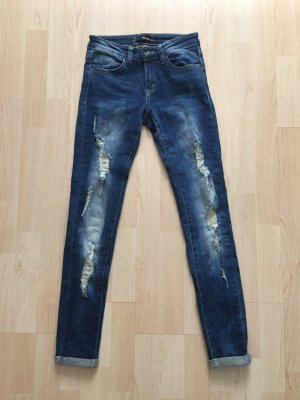 Skinny Jeans von Tally Weijl mit Rissen