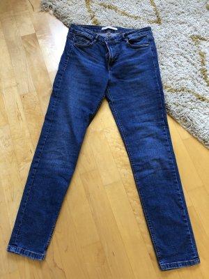 Zara Jeans cigarette bleu