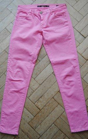 Skinny Jeans von ZARA in Pink Gr. 36