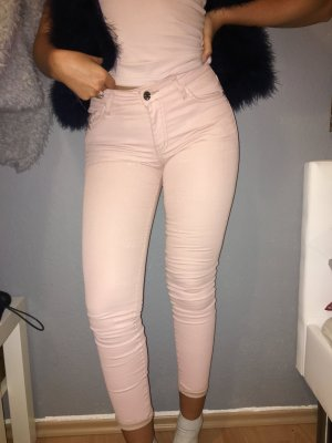 Skinny Jeans XS Mango 34 Rose beschichtet