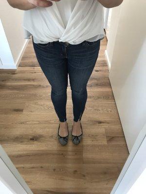 Zara Low Rise jeans veelkleurig