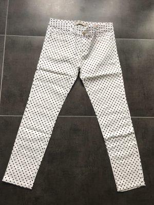 Skinny Jeans Zara gepunktet Gr. 40