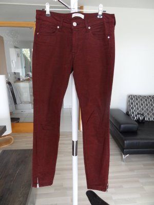 Skinny Jeans, ZARA, Gr. 34, Bordeaux, NEU!!