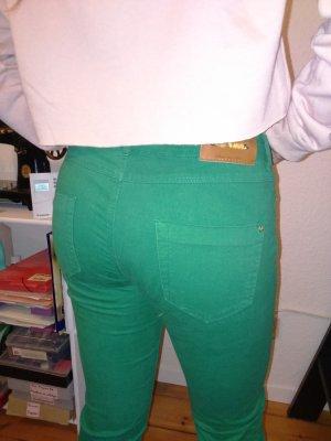 skinny jeans zara grasgrün