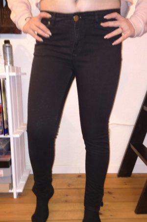 skinny jeans zara used black