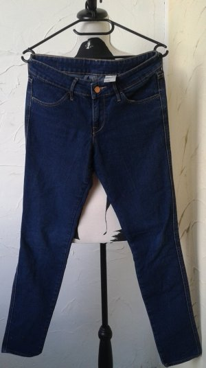 Skinny Jeanshose Gr:27/32, blau