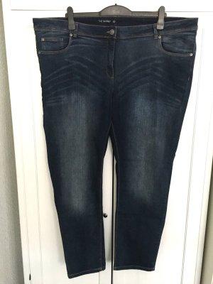 Skinny Jeanshose Gr. 56 - dunkelblau