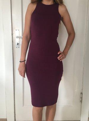 Skinny Kleid in lila / FOREVER21