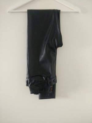 Seven Sisters Leather Trousers black