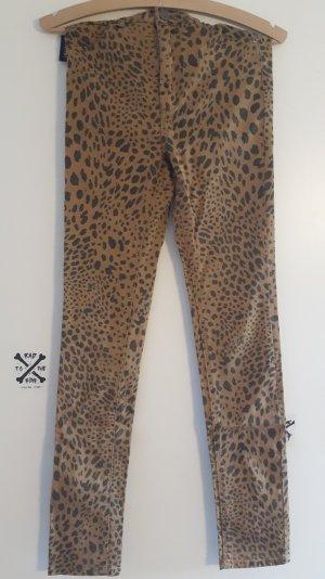 Skinny leoparden jeans