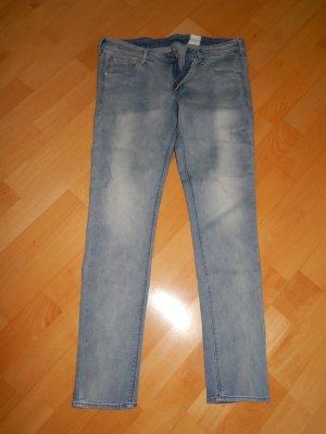 Skinny Low Waist Jeans von H&M Denim