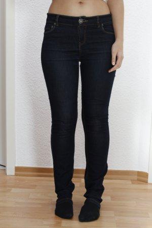 Skinny Only Jeans in dunkelblau aus Baumwolle W:M L:32 Ultimate Stretch Denim