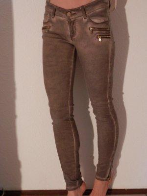 Skinny Punk Rock Vintage Röhre Jeans Hose Jegging Pants Blogger Style TREND