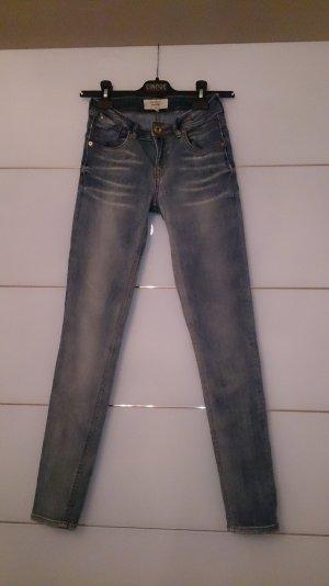 Mango Skinny Jeans blue