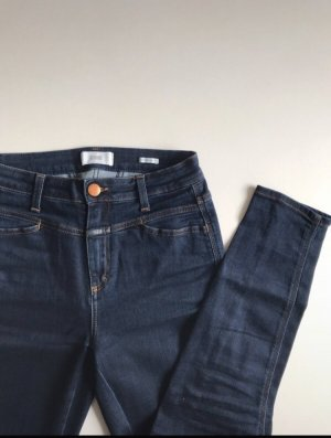 Closed High Waist Jeans dark blue