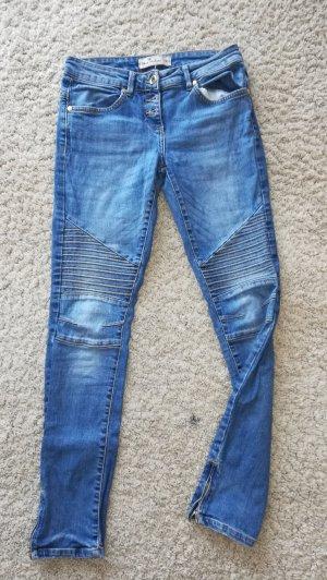 Skinny Regular Ankle Biker Jeans