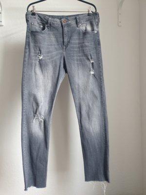 C&A High Waist Trousers grey