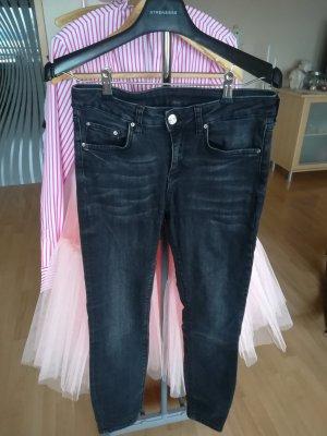 Skinny Röhre Jeans Midiwaist