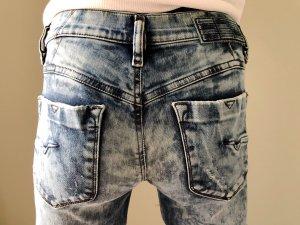 Diesel Jeans cigarette bleu coton