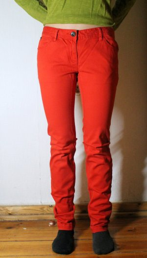 Skinny Röhrenhose/ Strechhose in rot von Tom Tailor Gr. 36