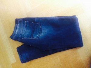 Skinny Seven Jeans in Blau
