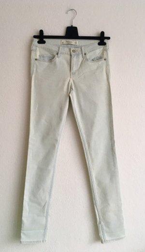 Abercrombie & Fitch Slim jeans lichtblauw