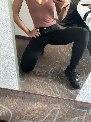 Skinny stretch hose Zara in 34 schwarz