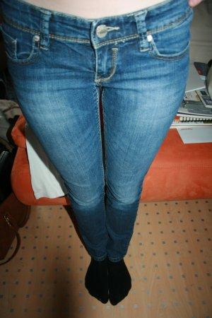 skinny washed Jeans Gr. 34
