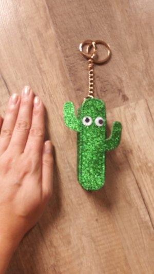 Skinnydip Anhänger Schlüsselanhänger Taschenanhänger Charm Kaktus Glitzer