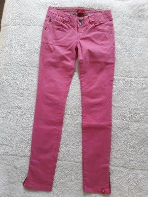 Skinnyhose in rosa von Esprit