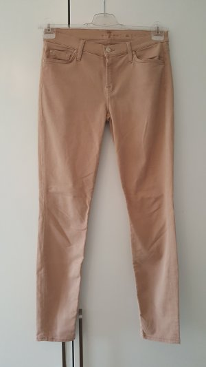 7 For All Mankind Skinny Jeans beige