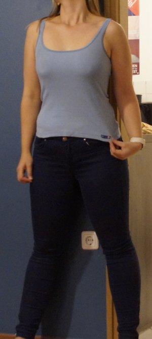 *Skiny Unterhemd Tanktop Shirt blau**