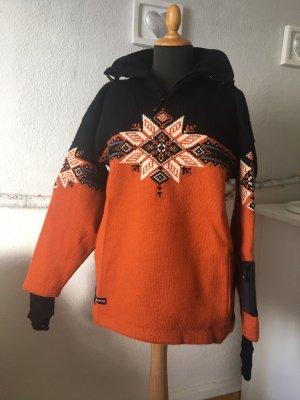 Dale of Norway Chaqueta para exteriores negro-naranja