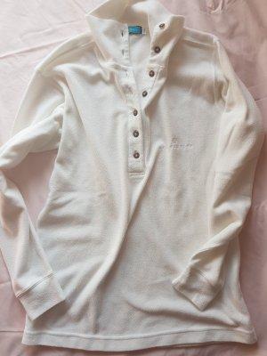 BELFE & BELFE Camisa de cuello de tortuga blanco