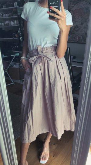 Skirt blogger rosè midi