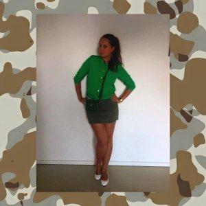Skirt Green short sweet jeans