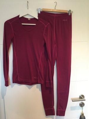 Vêtement pour la maison violet tissu mixte