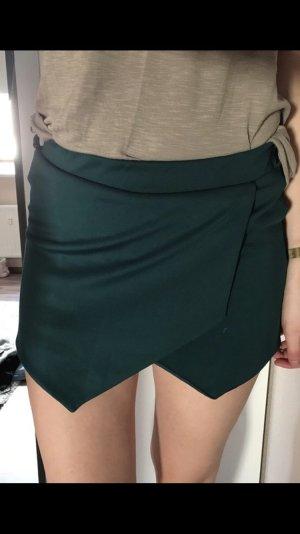 Skort dunkelgrün New Look