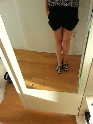 Skort schwarz Zara XS Shorts Rock