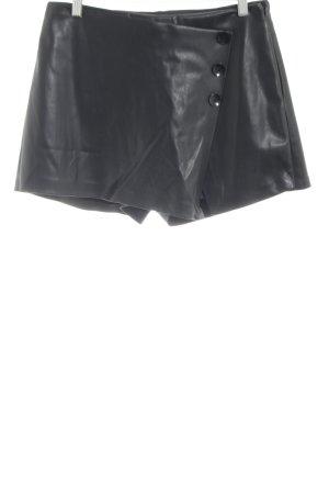 Skorts black casual look
