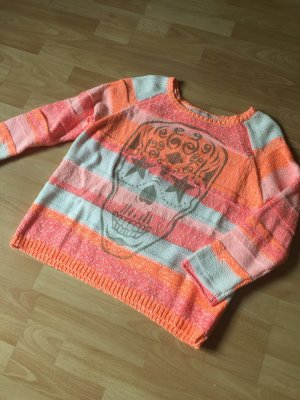 Mrs. Foxworthy Crewneck Sweater multicolored cotton